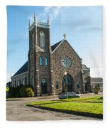The Church Of Saint Patrick Fleece Blanket