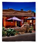 The Church Street Cafe - Albuquerque New Mexico Fleece Blanket
