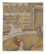 The Circus Fleece Blanket