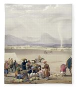 The City Of Candahar, From Sketches Fleece Blanket