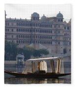 The City Palace, India Fleece Blanket