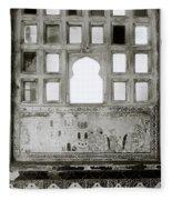 The City Palace Window Fleece Blanket