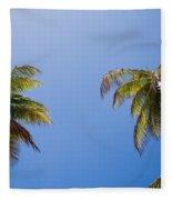The Coconut Ladder Fleece Blanket