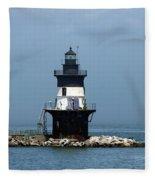 The Coffee Pot Lighthouse Fleece Blanket