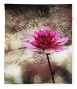 The Color Of Springtime - Vintage Art By Jordan Blackstone Fleece Blanket