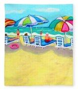 The Color Of Summer  Fleece Blanket