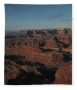The Colorado River At Dead Horse State Park Fleece Blanket