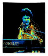 The Colorful Sound Of Bad Company 1977 Fleece Blanket