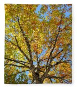 The Colors Of Fall Fleece Blanket