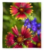 The Colors Of Summer  Fleece Blanket