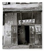 The Communist Reading Room In Cochin Fleece Blanket
