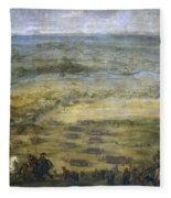 The Conquest Of Lleida Fleece Blanket