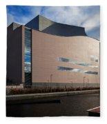 The Convention Centre Dublin , Dublin Fleece Blanket