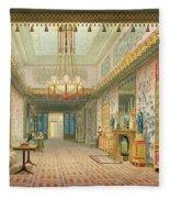 The Corridor Or Long Gallery Fleece Blanket