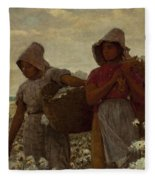 The Cotton Pickers Fleece Blanket