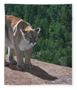 The Cougar 1 Fleece Blanket