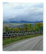 The Country Road Fleece Blanket