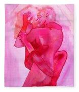 The Couple Image 5 Fleece Blanket