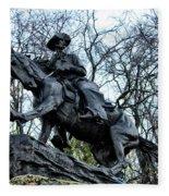 The Cowboy Fleece Blanket