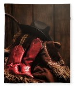 The Cowgirl Rest Fleece Blanket