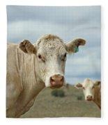 The Cows Fleece Blanket