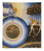The Creation Of The World And The Expulsion From Paradise Fleece Blanket