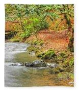 The Creek 0061 Fleece Blanket