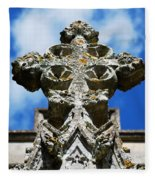 The Cross And The Tower Fleece Blanket