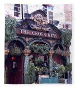 The Cross Keys Fleece Blanket