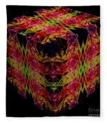 The Cube 1 Fleece Blanket