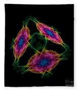 The Cube 2 Fleece Blanket