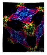 The Cube 4 Fleece Blanket