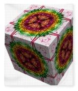 The Cube 5 Fleece Blanket
