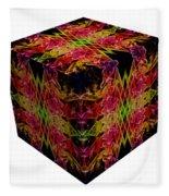 The Cube 8 Fleece Blanket