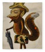 The Cunning Fox Fleece Blanket