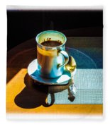 The Cup Of Black Coffee 1 Fleece Blanket