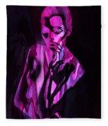 The Cyber Woman Fleece Blanket