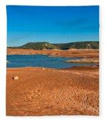 The Cyclic Lake Fleece Blanket