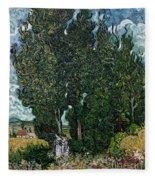 The Cypresses Fleece Blanket
