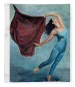 The Dancer Fleece Blanket