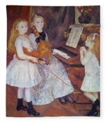 The Daughters Of Catulle Mendes Fleece Blanket