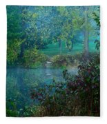 The Dawn Of Tranquility Fleece Blanket