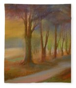 The Day Will  End Fleece Blanket