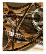 The Days Of Film Fleece Blanket