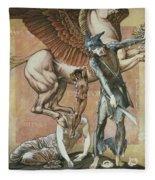 The Death Of Medusa I, C.1876 Fleece Blanket