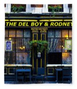 The Del Boy And Rodney Pub Fleece Blanket