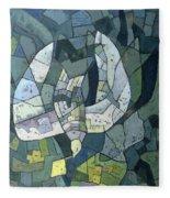 The Descending Dove Libra, 1966 Fleece Blanket