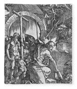 The Descent Of Christ Into Limbo Fleece Blanket
