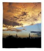 The Desert Sky  Fleece Blanket