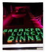 The Diner Fleece Blanket